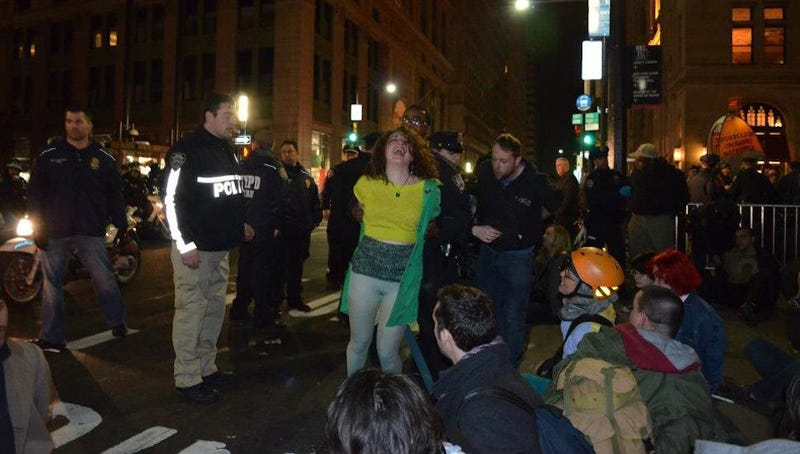 Occupy Wall Street Protester Cecily McMillan Sentenced to 90 Days