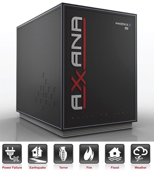 Axxana Phoenix Is a Ruggedized SSD Array for Hardcore Data Backup
