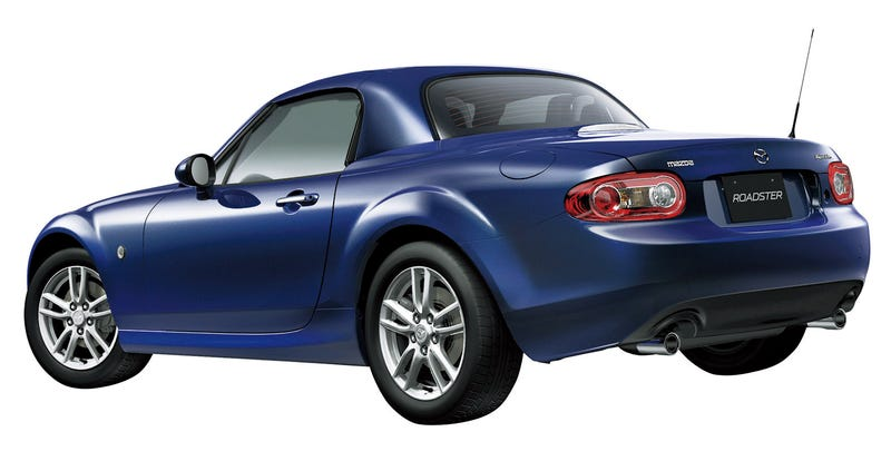 2009 Mazda Miata MX-5 Launched In Japan