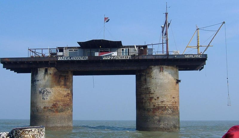 Exploring the Amazing Abandoned Sea Forts of World War II