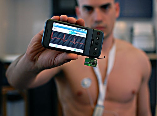Body Organs Can Send Status Updates To Your Cellphone