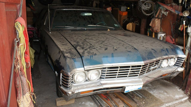 1967 Chevy Impala Is A Barn Find Time Capsule
