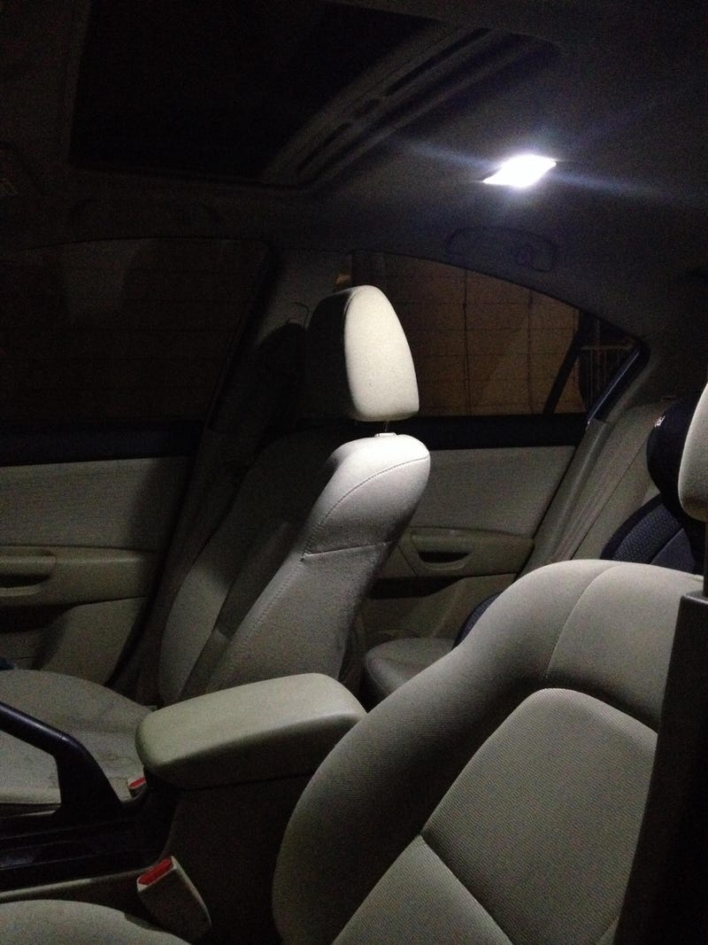 LED interior lights installed!