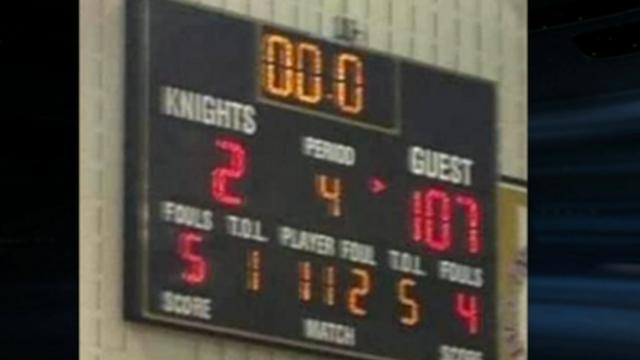 High-School Girls Basketball Team Loses 107-2