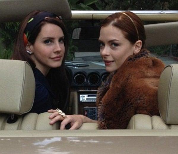 Lana Del Rey Has Very Lana Del Rey Photoshoot with Jaime King