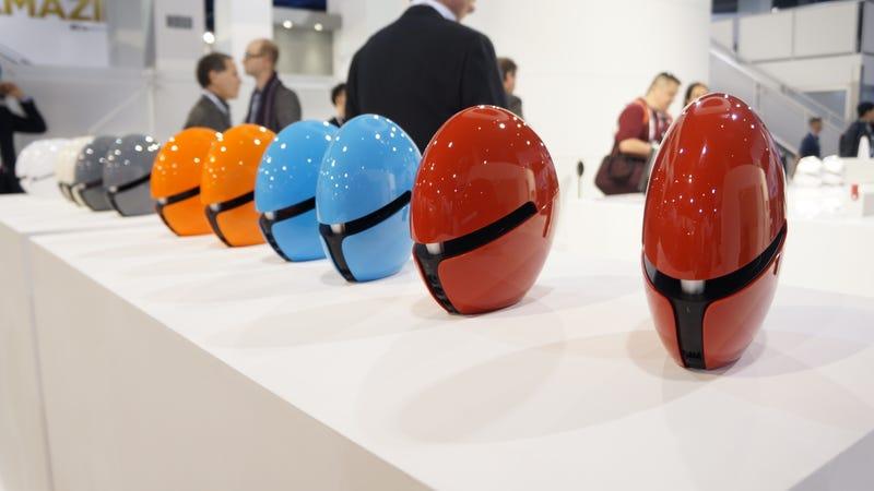 These Speakers Look Like Daft Punk Helmets