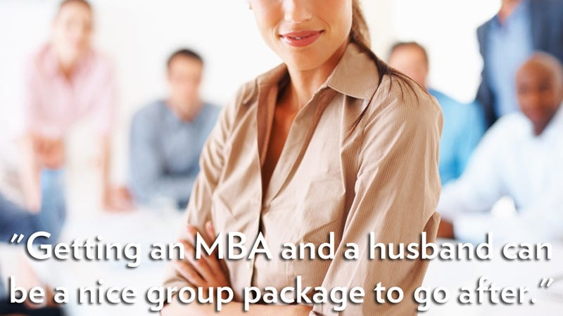 Website for Career Women Thinks Ladies Go to Business School to Find Husbands