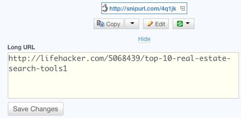 Five Best URL Shrinkers