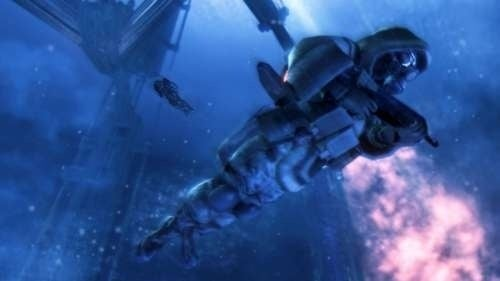 Underwater, Armed to the Teeth in Lost Planet 2