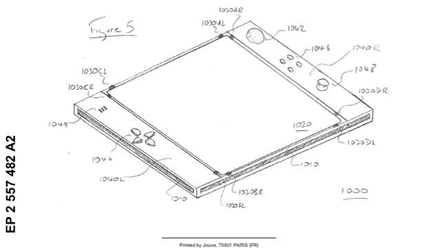 "iPad? No, Sony Patented Something It's Calling the ""EyePad"""