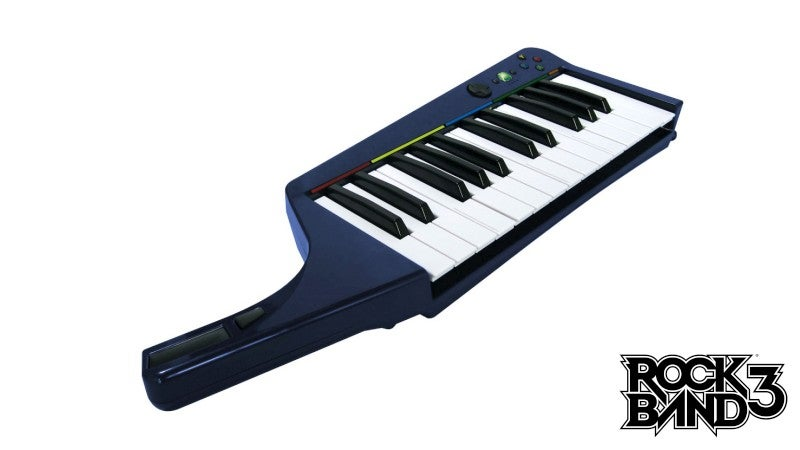 The Good And Worrisome About Rock Band 3's Keyboard
