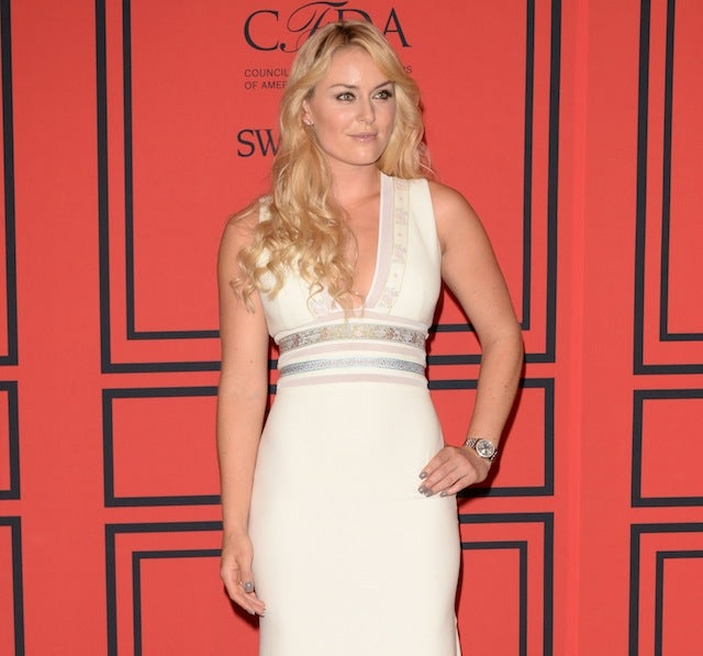 Lindsey Vonn Had To Take A Drug Test While At An Awards Show