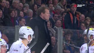 Former NHL Coach Goes Nuts On Counterpart During Game