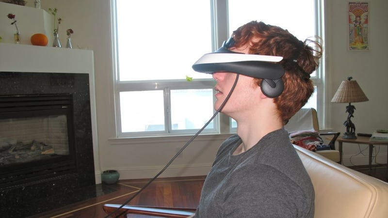 HMZ-T1 Personal 3D Viewer Gallery