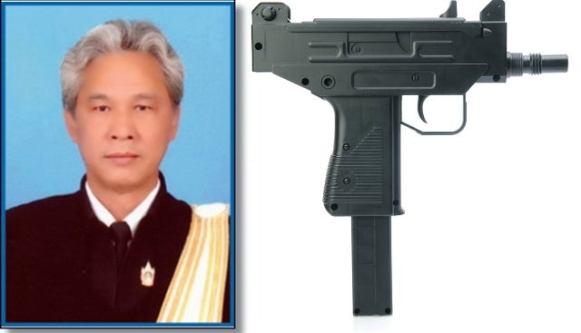 Thai Senator Fatally Wounds Secretary with Submachine Gun While Waiting for Food at a Restaurant