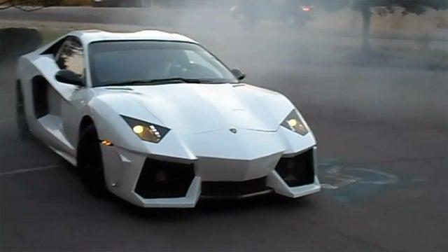 This Pontiac-Based Lamborghini Aventador Replica Is Pure Nightmare Fuel