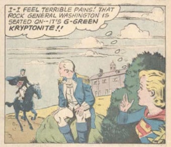 A few of Supergirl's everyday problems that you and I don't have to worry about