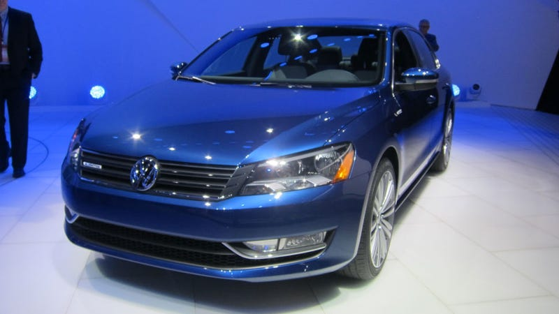VW Passat BlueMotion Is So Blue Which Means Its Green