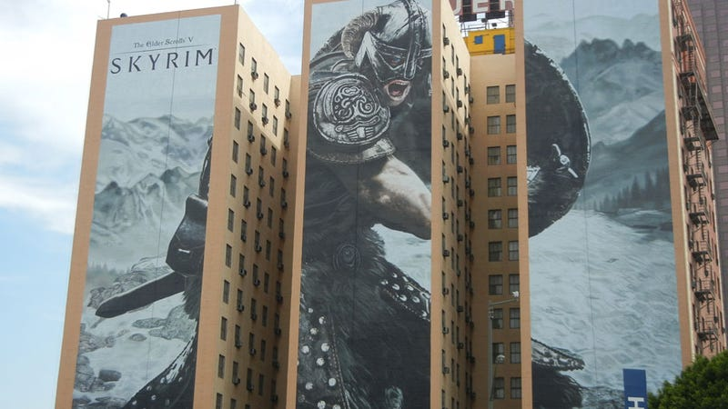 You Know It's E3 When Elder Scrolls Is as Big as a Building