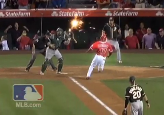 Yoenis Cespedes's Amazing Throw Gets The Special Effects It Deserves