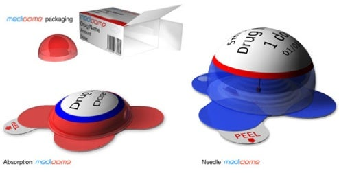 Medidome Syringe Aims for Veins with Kid-Friendly Design