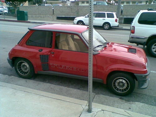 Renault 5 Turbo Down On The Southern California Street