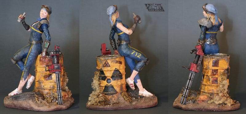 These Hand-Made Video Game Statues are Works of Art
