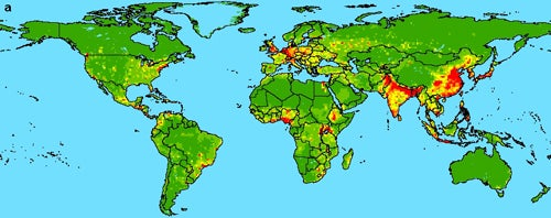 Disease Prediction Map Shows Where the Next Plague Will Hit