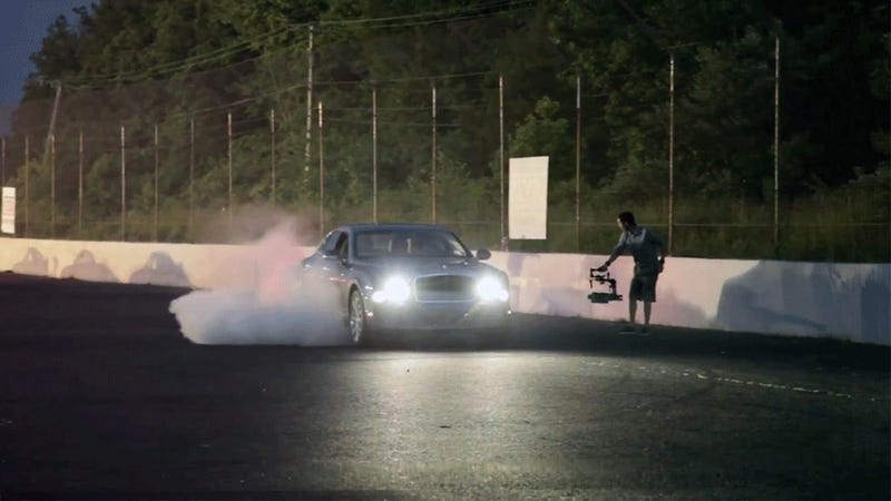 How To Get A $410,000 Bentley To Do A Burnout