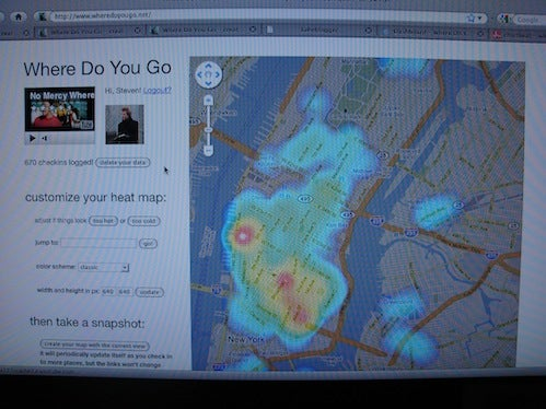 Foursquare, As Seen By the Predator