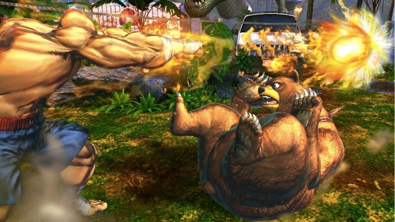 Bear Down for More Street Fighter x Tekken Screens