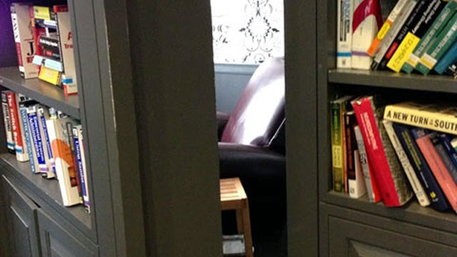 Google's Offices Have Awesome Secret Rooms Hidden By Swiveling Bookshelves