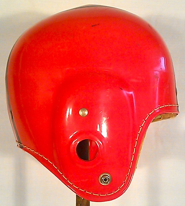 12 Helmets from the Dark Ages of Football