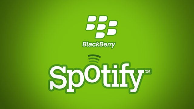 Spotify Releases App for Some BlackBerry Phones