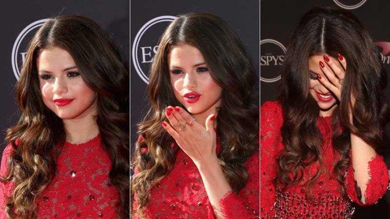 Selena Gomez's Pointy Nails Will Have You Seeing Red