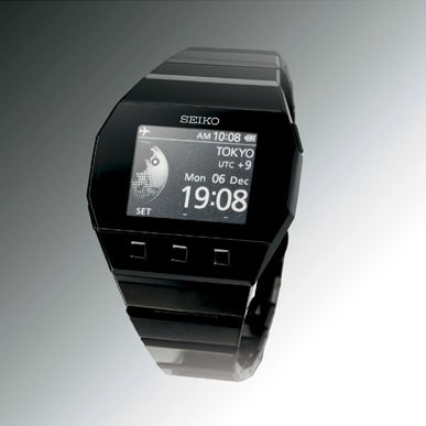 Seiko Spectrum Bracelet Watch Uses E-Ink, Looks Scary Cool