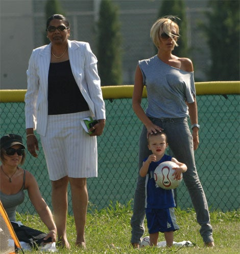 Victoria Beckham: Just Another Soccer-Mom