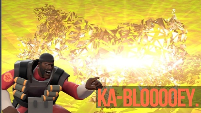 Explosives to Blow Up Frozen Cows? Sounds Like a Job for Team Fortress 2's Demoman