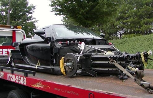 Porsche Carrera GT Suffers Death By Teenager