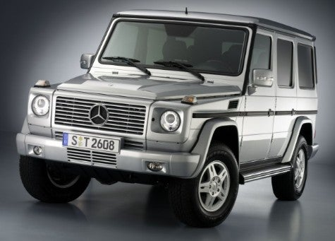 Tell the Estonian Defense Forces: New Mercedes G-Wagon's Just a Little Different