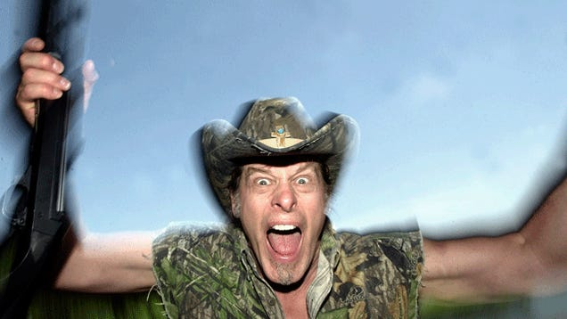 Patriotic American Ted Nugent Shit His Pants to Avoid the Draft