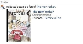 I Am A Fan Of 'The New Yorker'