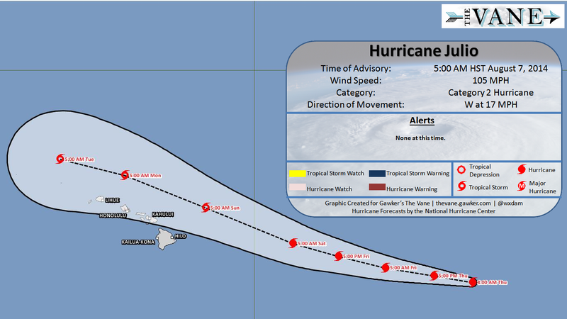Hawaii Braces for a Direct Strike from Hurricane Iselle
