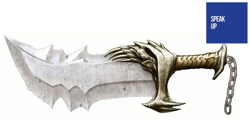 Here's a Dagger. Which Game Franchise Will You Kill?