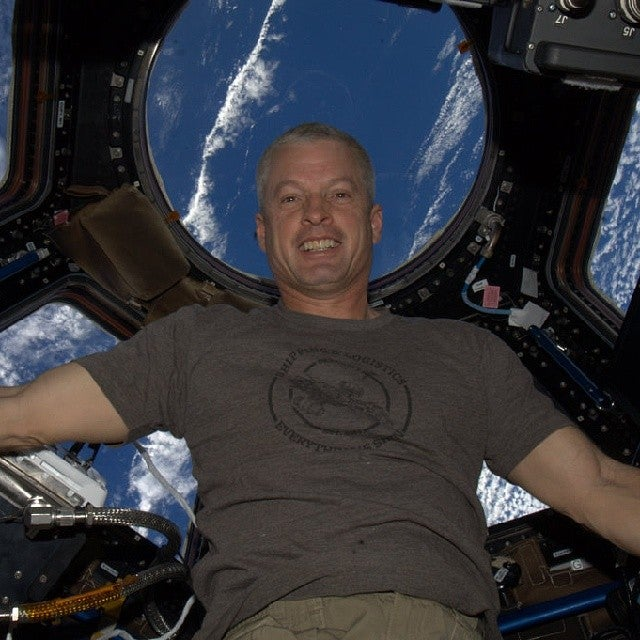 The First Instagram From Space Is Of An Astronaut In A Firefly T-Shirt