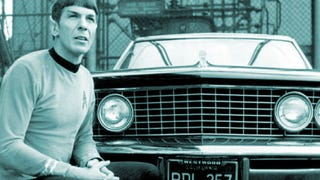 Kirk Once Stole Spock's Buick Riviera