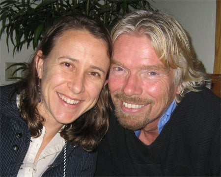 Richard Branson moves in on Google girl