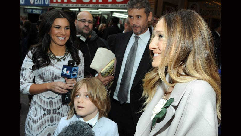Sarah Jessica Parker Treats Her Adorable Son James to a Night at the Theater