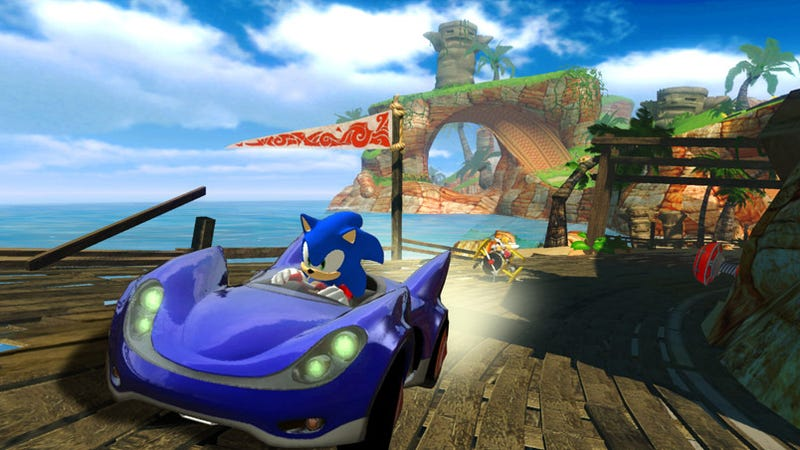 Sega Wheels Out Sonic All-Star Racing