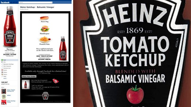 A Ketchup for the 1%